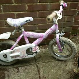 childs first bike by Raleigh