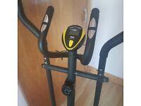 Everlast hybrid cross trainer/ exercise bike ..smoke free pet free home