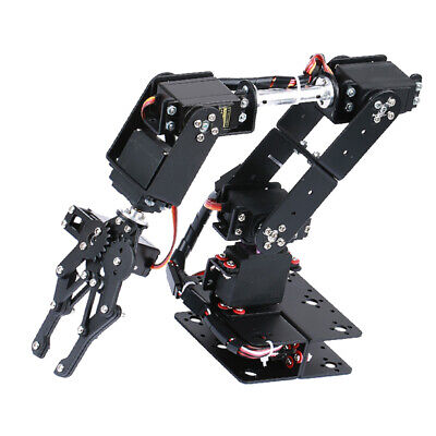 New 6dof Mechanical Robot Arm Claw For Robotics  Diy Kit