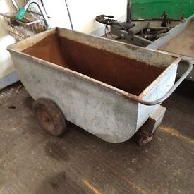 WHEEL BORROWS / MEAL BIN FOR SALE