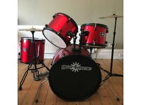 Gear 4 Music Drum Kit, 7 piece
