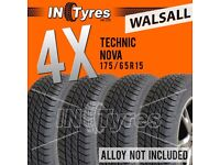 4x 175/65R15 Technic Nova Tyres 175 65 15 Fitting Available