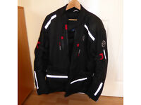 Motorcycle Jacket (Buffalo) As new. Size 44 L