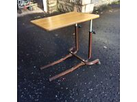 *FREE* Adjustable over bed table