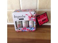 Impulse bodt spray in a gift box