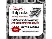 ★ FLATPACK FURNITURE ASSEMBLY AND REPAIR SERVICE FOR YOUR HOME, GARDEN AND OFFICE ★