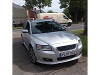 Volvo sport v50 2007 12months mot one previous owner