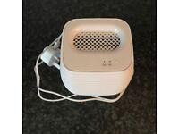 Portable dehumidifier with silent mode