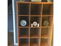 Very large bookshelf/room divider
