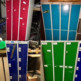 FREE TO COLLECTORS - Various Metal Storage Lockers - Next 3 days only!