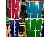 FREE TO COLLECTORS - Various Metal Storage Lockers