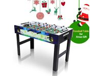 Ancheer Football Table, 4ft Wooden Table Foosball Game for Kids Outdoor and Indoor