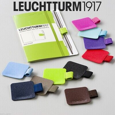 Leuchtturm 1917 Pen Loop Pencil Holder For Notebooks - 27 Colours High Quality