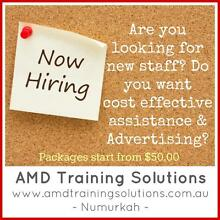 AMD TRAINING SOLUTIONS - Recruitment Assistance Shepparton Region Preview