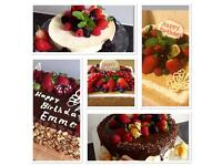 Birthday Cakes. Cupcakes. Homemade.