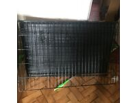 Large Puppy / Dog / Animal crate folds away £25