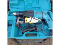 Makita 110 hammer drill in clean condition hardly used