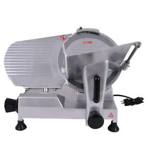 New 12 Blade Commercial Meat Slicer Deli Meat Cheese Food Slicer Industrial - FREE SHIPPING