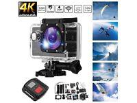 4K 2'' Ultra HD 1080P Sports WiFi Cam Action Camera DV Video Recorder 16MP