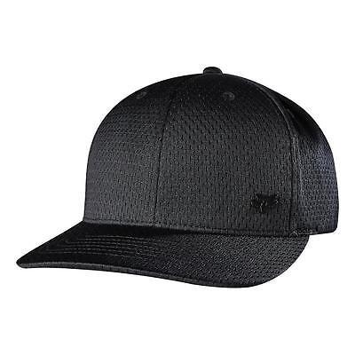 NEW FOX RACING MEN'S PREMIUM SPORT SNAPBACK TRUCKER ADJUSTABLE HAT CAP BLACK