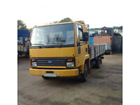 Left hand drive FORD Cargo 0609 4.1 diesel 5.6 ton truck. Low miles.