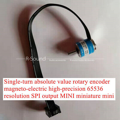 Single-turn Absolute Value Rotary Encoder Magneto-electric 65536 Resolution Spi