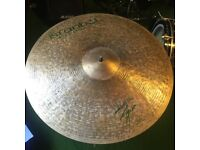 Istanbul Agop 21' Signature Ride - as new, perfect condition.