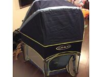 Graco play pen used once.