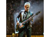 Bass Player Wanted for U2 Tribute Act