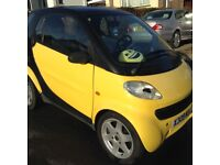 Smart Pulse City Coupe Late 2000 (5th Dec.) Spares or Repairs.