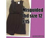 Misguided dress size 12