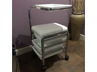 Pedicure trolley .