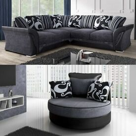 LUXURY SHANNON CORNER AND 3+2 SEATER SOFA SET AVAILABLE IN STOCK