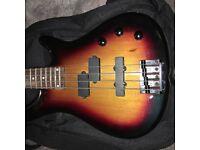 Stagg Electric Bass Guitar - Sunburst