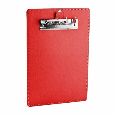 A-56x8 Executive Exam Red Board Clip Board Clip Pad Writing Plate Notepad