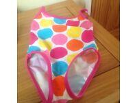 Girls swimming costume 12-18 months