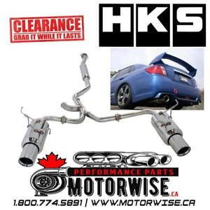 HKS ES Premium Catback Exhaust for 2011-2014 Subaru WRX and WRX STi Sedan | $1800 Cash | CLEARANCE SALE