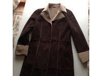 New brown ladies coat