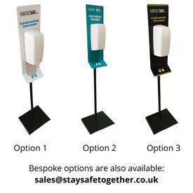 Free-Standing Hand Sanitiser Wash Station Dispenser | Automatic | Portable