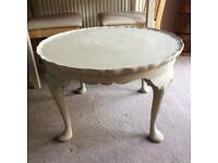 Unusual refurbished coffee table