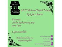 GCSE Maths/English tutoring - LISBURN/DROMORE - One to one and small groups
