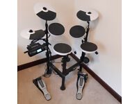 Roland V-Drums Compact Portable TD-4KP with accessories