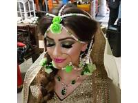 Professional Asian Bridal Makeup Artist and Hair stylist