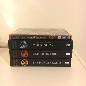Hunger Games Books + DVD