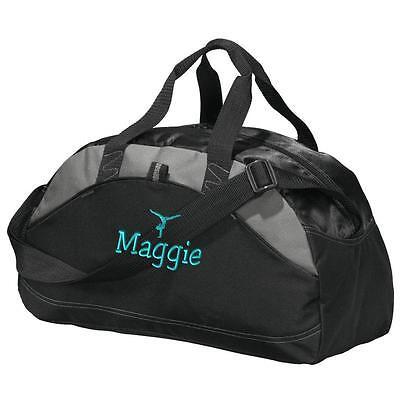 Gymnastics Duffel Bag. Personalized Gym Bag. Embroidered Duffle Bag. Gym1 BG1070 (Embroidered Duffle Bags)