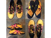 Orange & pink Football boots adidas size 6