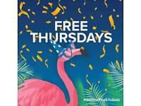 FREE BINGO every Thursday in November!