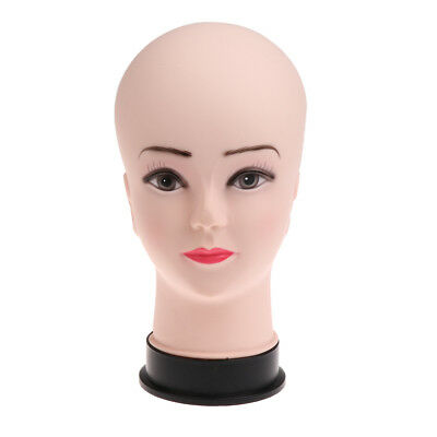 10.5 Female Styrofoam Mannequin Manikin Head Model Wigs Cap Display Stand