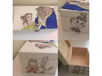 Childrens Hand painted keepsake boxes