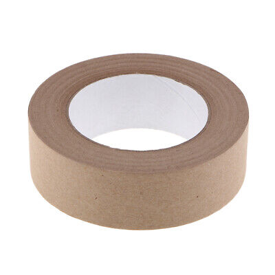 50m Water Activated Kraft Paper Tape Packaging Sealing Commercial Quality